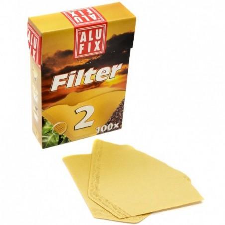 Sada kávových filtrů, velikost 2, 100ks