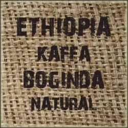 Ethiopia Kaffa Boginda Natural